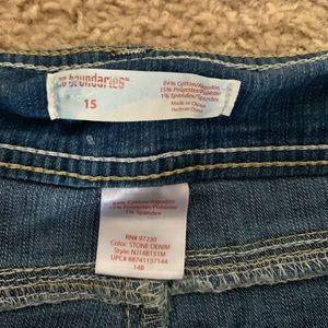 No Boundaries Shorts - No Boundaries Women's Jean Shorts with Tears